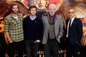 Mockingjay cast/ London