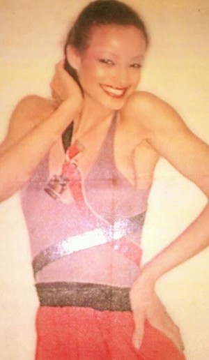 Modeling photo '78-'79