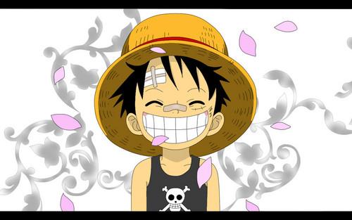 Monkey D. Luffy karatasi la kupamba ukuta called Monkey D Luffy
