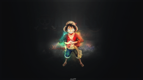 Monkey D. Luffy kertas dinding called Monkey D Luffy