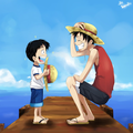 Monkey D Luffy - monkey-d-luffy fan art