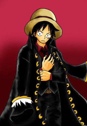 Monkey D. Luffy fond d'écran possibly containing animé entitled Monkey D Luffy