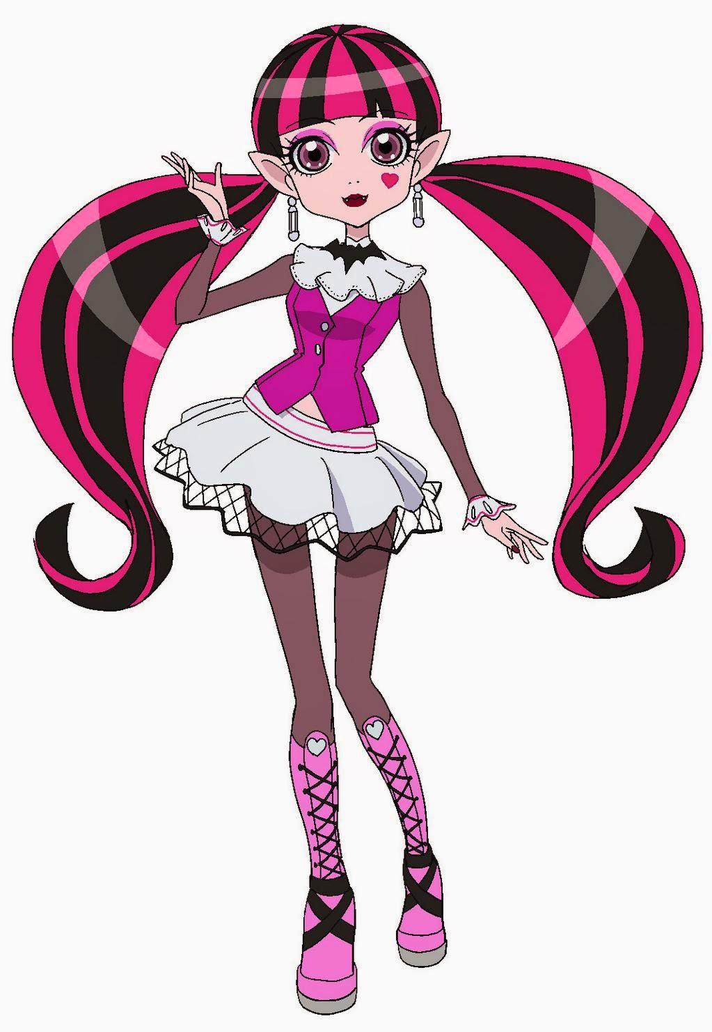Monster High ऐनीमे