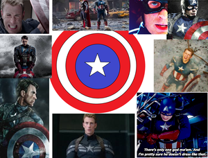 My Captain america Collage