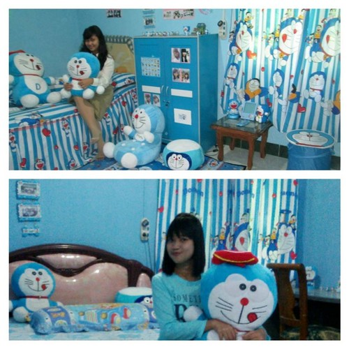 Doraemon Hintergrund possibly containing a neonate titled My Doraemon Bedroom