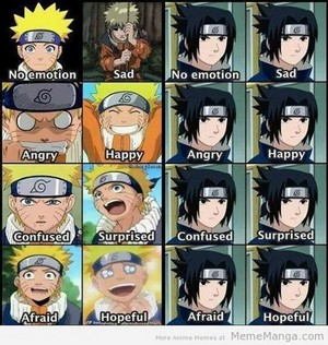 Naruto Emotions