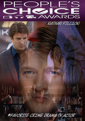 Nathan Fillion پسندیدہ Crime Drama TV Actor