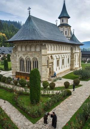 Neamt monastery orthodox Romania Moldavia