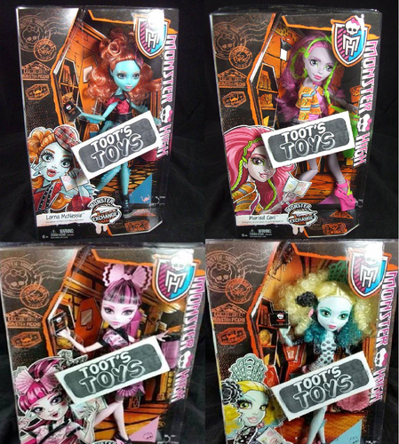 Monster High fond d'écran with animé titled New poupées 2015