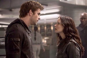New Still - Mockingjay: Part 1 | Gale and Katniss