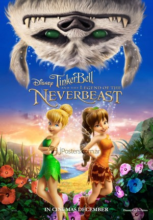New टिंकर बेल and the Legend of the Neverbeast Poster