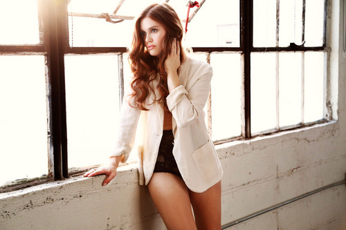 Holland Roden wallpaper titled New York Moves Magazine new outtakes