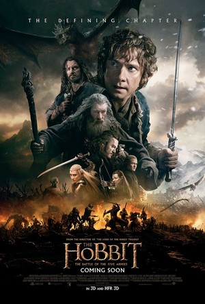 New international poster of The Hobbit: The Battle of the Five Armies