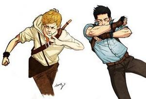 Newt and Minho