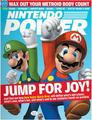 Nintendo Power Covers with various Mario characters on them
