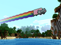 Nyan Cat Wallpaper - minecraft wallpaper