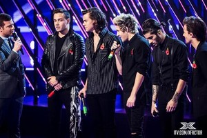 ONE DIRECTION LIVE ON THE X FACTOR. 09/11