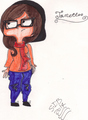 Oc (2) Janette - ed-edd-and-eddy fan art