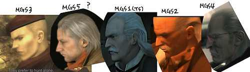 metal gear solid 3 wallpaper titled Ocelot through the years