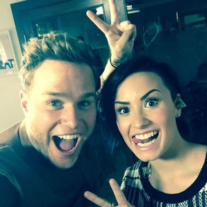 Olly and Demi