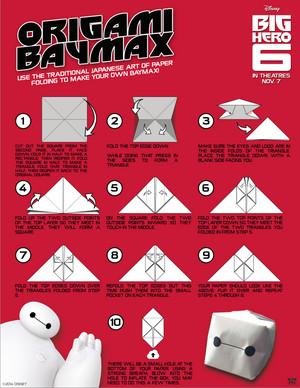 Origami Baymax