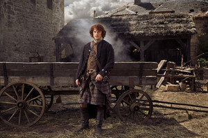 Outlander photoshoot for TVGuideMagazine by Eric Odgen