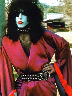 Paul Stanley...Japan 1977