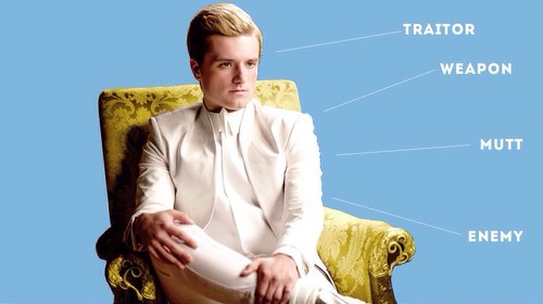 Peeta Mellark वॉलपेपर probably containing a well dressed person and a business suit entitled Peeta Mellark | Mockingjay