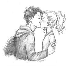 Percabeth First 키스