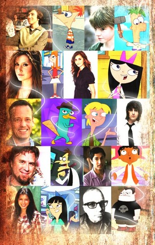 phineas e ferb wallpaper called Phineas and Ferb Cast