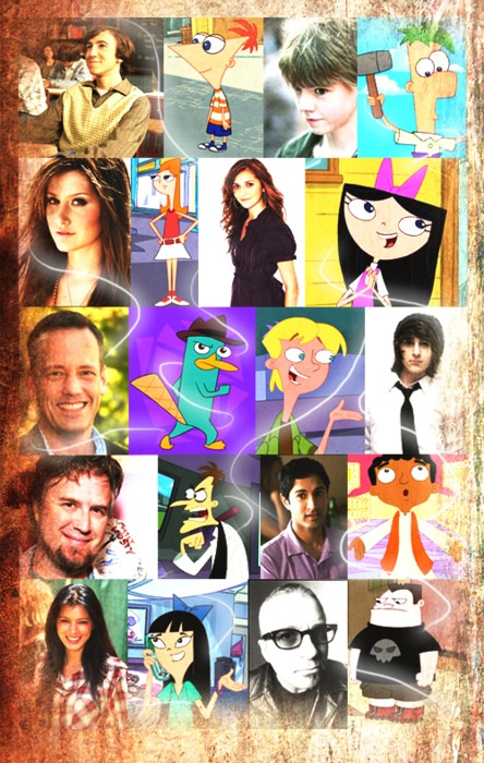 Phineas and Ferb Cast