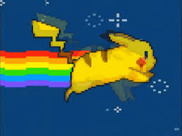 Nyan Cat Hintergrund called Pika Cat!!!
