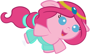 Pinkie Pie as جیسمین, یاسمین