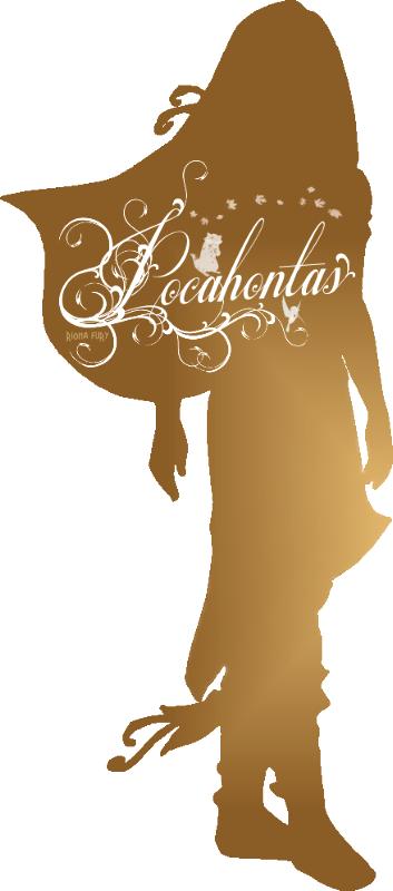 Pocahontas Silhouette