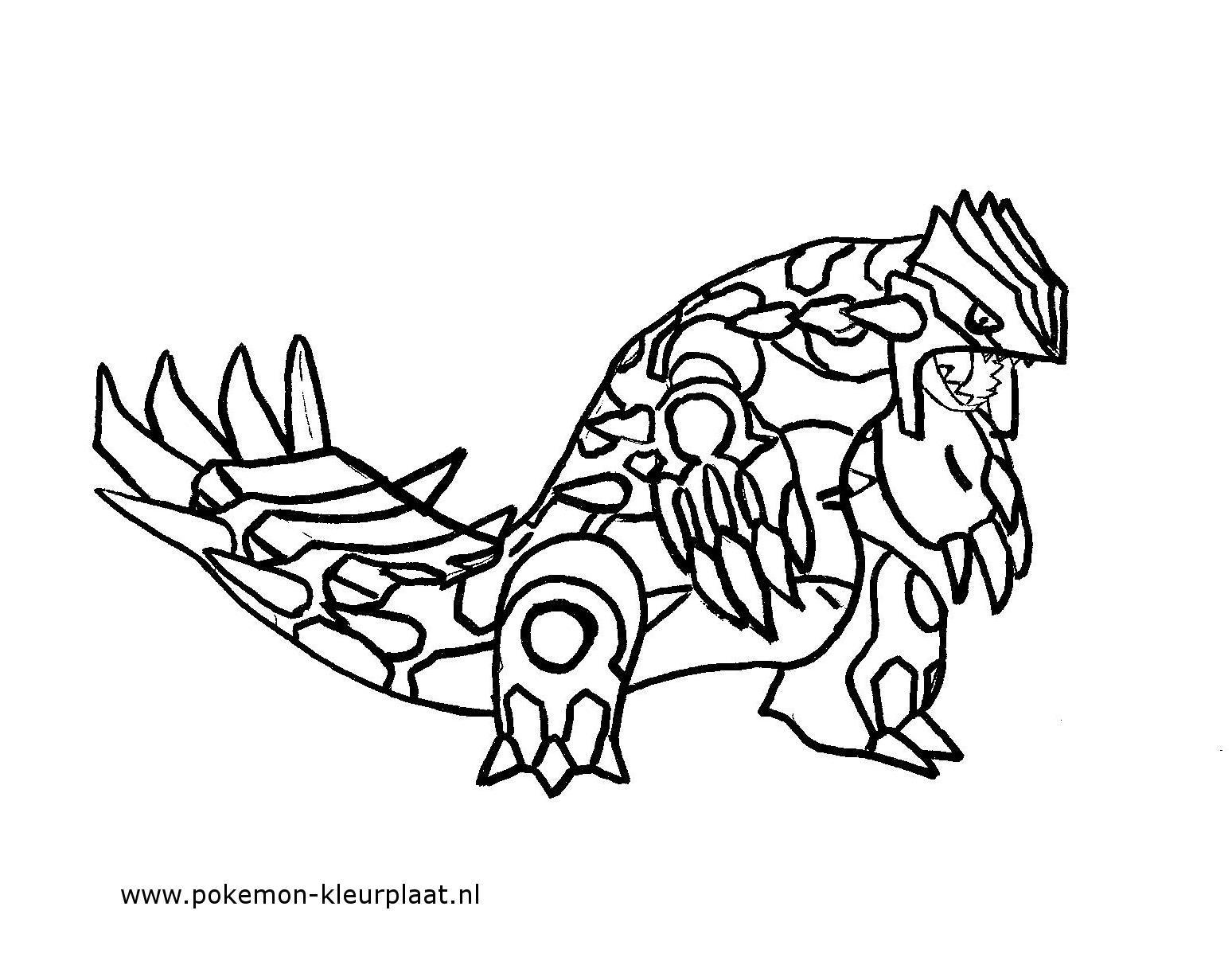 pokemon groudon ex coloring pages-#16