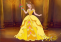 Princess Belle's Wedding गाउन
