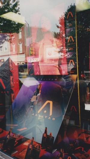 Promotion of Aaliyah's iconic 'RED Album' ♥ 2001