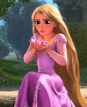 Rapunzel's spring valley look