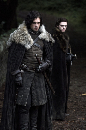 Richard as Robb Stark