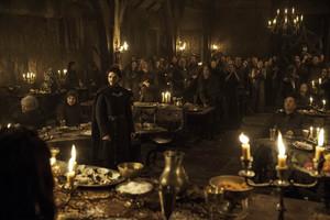 Richard as Robb Stark