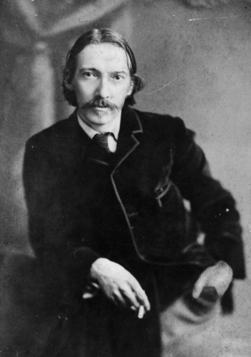 Poets & Writers wallpaper with a well dressed person and a business suit titled Robert Louis Stevenson