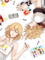 Roxas and Namine - video-games photo