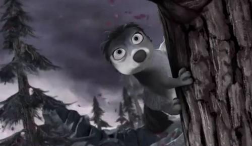 Alpha and Omega 4: The Legend of Saw Tooth Cave karatasi la kupamba ukuta called Runt