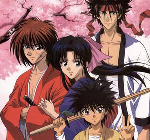 Rurouni Kenshin- main characters