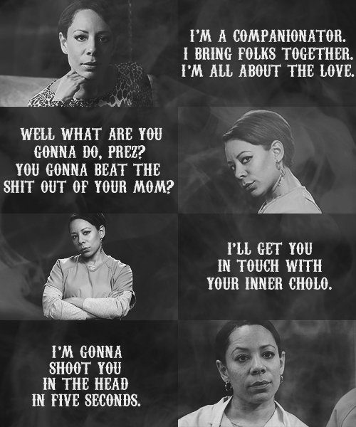 SOA Gender Swap: Selenis Leyva as Nero