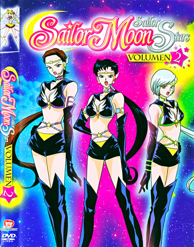 Sailor Moon Sailor Stars karatasi la kupamba ukuta with anime titled Sailor nyota Lights