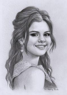 Selena Gomez Sketch