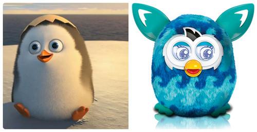 पेंग्विन्स ऑफ मॅडगास्कर वॉलपेपर titled Separated at Hatching?