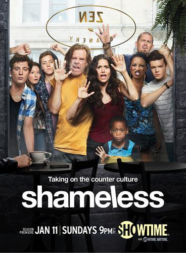 Shameless (US) wallpaper with a sign titled Shameless Season 5 Poster