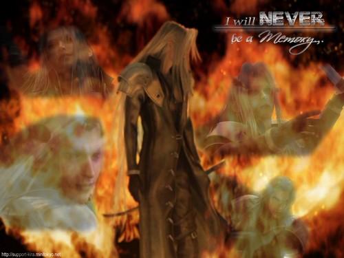 Shinra SOLDIER वॉलपेपर containing a आग and a आग titled Shinra SOLDIER